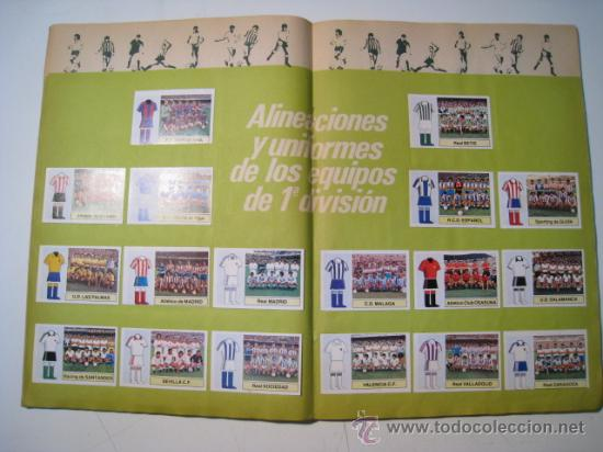 Álbum de fútbol completo: - Foto 2 - 22136212