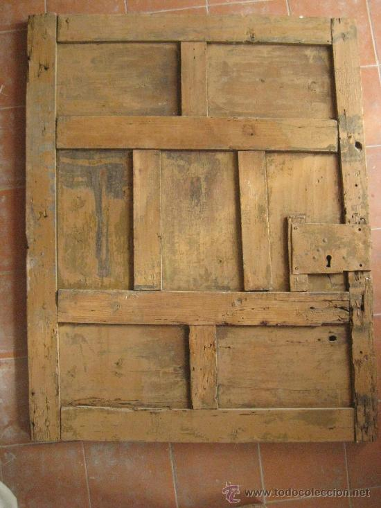 Puerta de madera antigua 101x79 preciosa comprar for Puertas de madera antiguas en cordoba