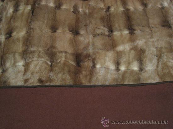 Manta de piel natural parecido al vison bord comprar en - Mantas de piel ...