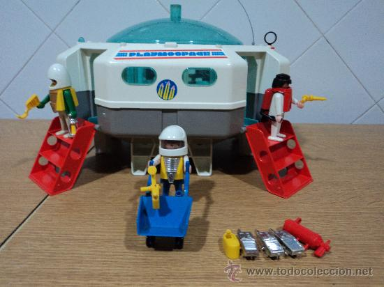 Playmobil nave espacial a o 1980 dificil comprar for Nave espacial playmobil