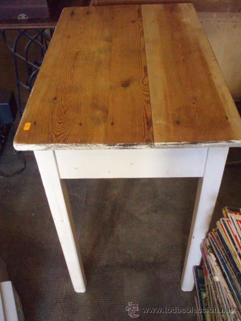 antigua mesa rustica. de cocina. 80 x 50 x 80. - Comprar Mesas ...