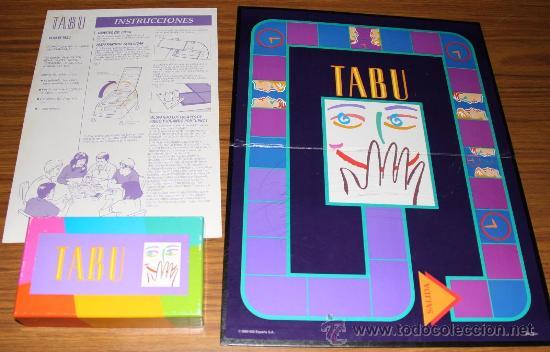 Tabu Mb Comprar Juegos De Mesa Antiguos En Todocoleccion 25712485