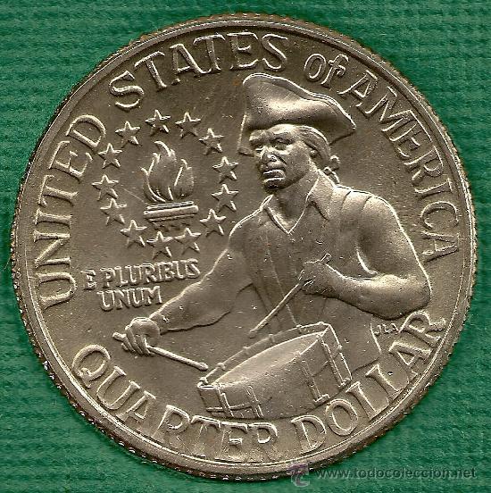 السعر 200 100 Dolar: 1976 (d) Quarter Dollar *bicentenario 1776-1976