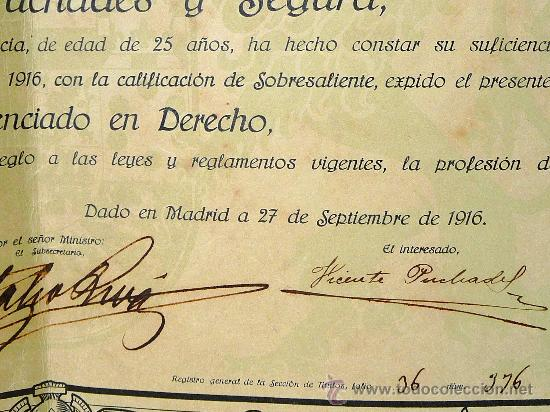 Documentos antiguos: - Foto 3 - 26234925