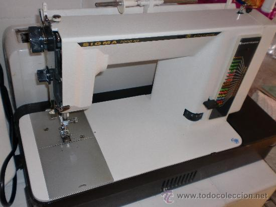 Maquina de coser sigma 2000 ns made in spain comprar for Maquina registradora sigma cr 2000