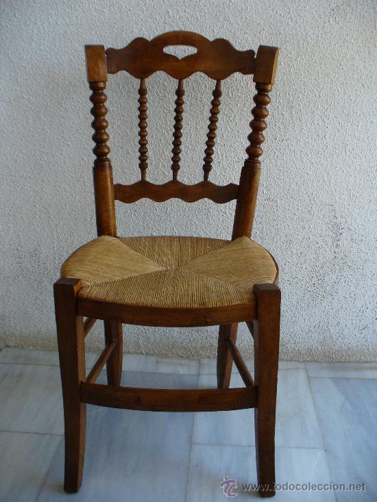 silla de cocina con respaldo con varillas en to - Comprar Sillas ...