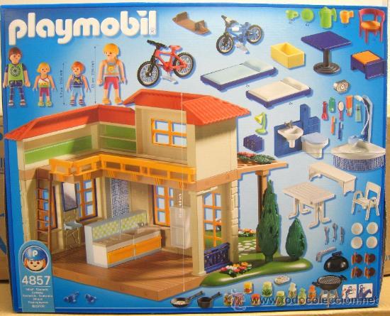 Playmobil 4857 casita de verano nuevo en caja comprar for Casa playmobil precio
