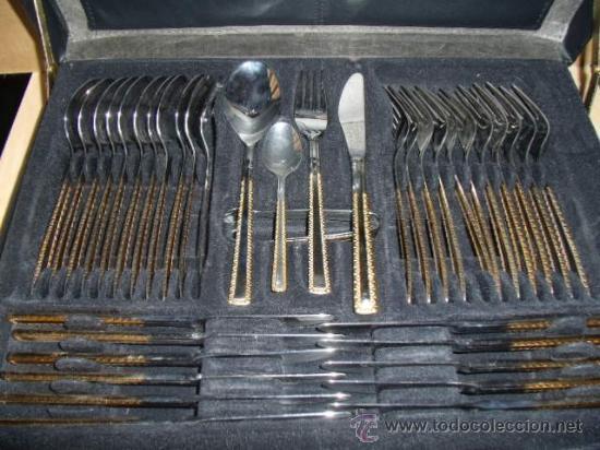 Cuberteria 72 piezas de acero inoxidable y filo comprar for Cuberteria completa
