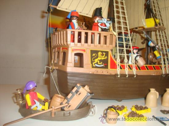 Barco pirata playmobil 3750 mas extras comprar playmobil for Barco pirata playmobil