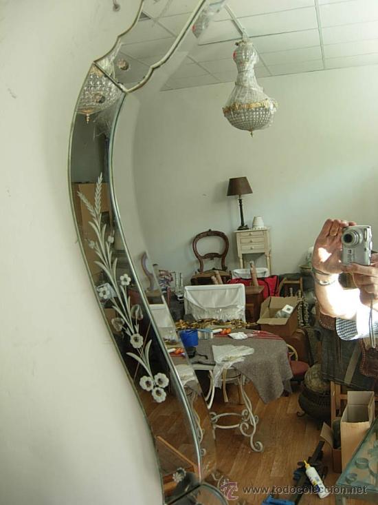 Espejo veneciano antiguo comprar espejos antiguos en - Espejo veneciano antiguo ...