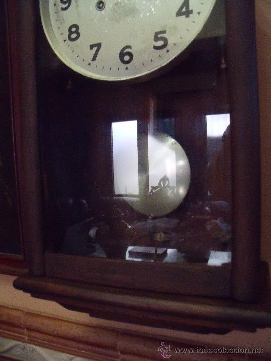 Antiguo reloj girod encerado funcionado perfe comprar - Reloj pared original ...