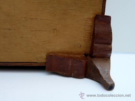Antigua caja de madera para manualidades costu comprar - Manualidades caja de madera ...