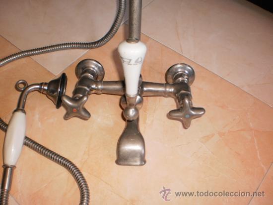 Griferia antigua de ba era con ducha grifo an comprar for Grifo ducha antiguo