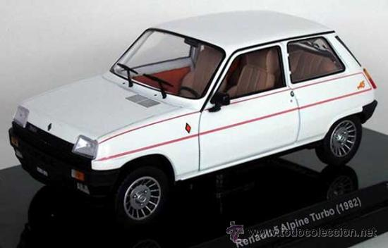 precioso renault 5 alpine turbo 1982 a es comprar coches a escala 1 24 en todocoleccion. Black Bedroom Furniture Sets. Home Design Ideas