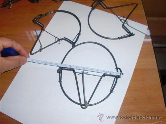 Cepos o trampas costillas de nueva fabricac comprar - Cepos para ratas ...