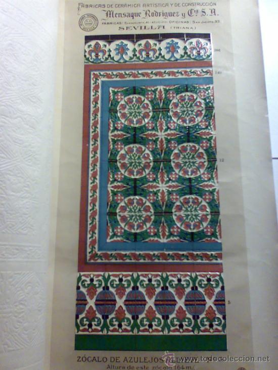 Catalogo de azulejos fabrica mensaque rodrigue comprar for Fabrica de azulejos