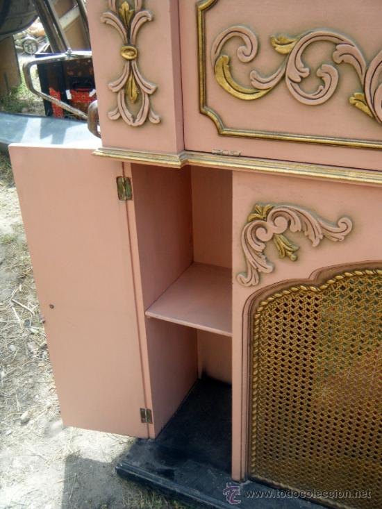 Gracioso mueble chimenea falsa lacado comprar muebles for Rastro muebles online