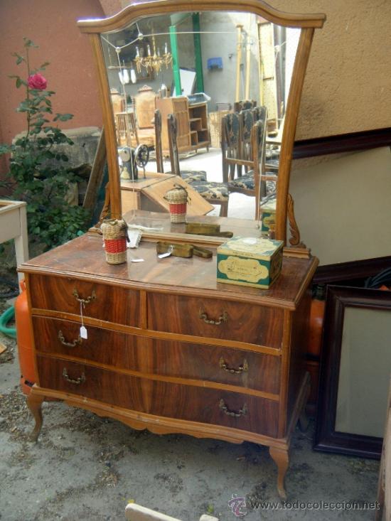 Coqueta tocador a os 60 para restaurar decorar comprar for Rastro muebles online