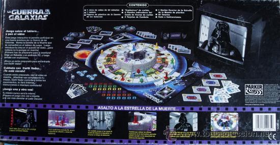 Juego De Mesa La Guerra De Las Galaxias Star Comprar Juegos De