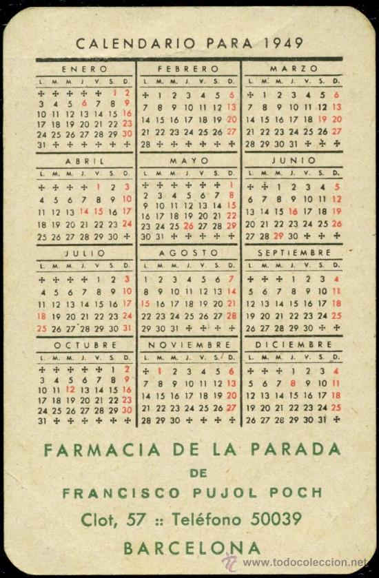 Coleccionismo Calendarios: - Foto 2 - 34165624