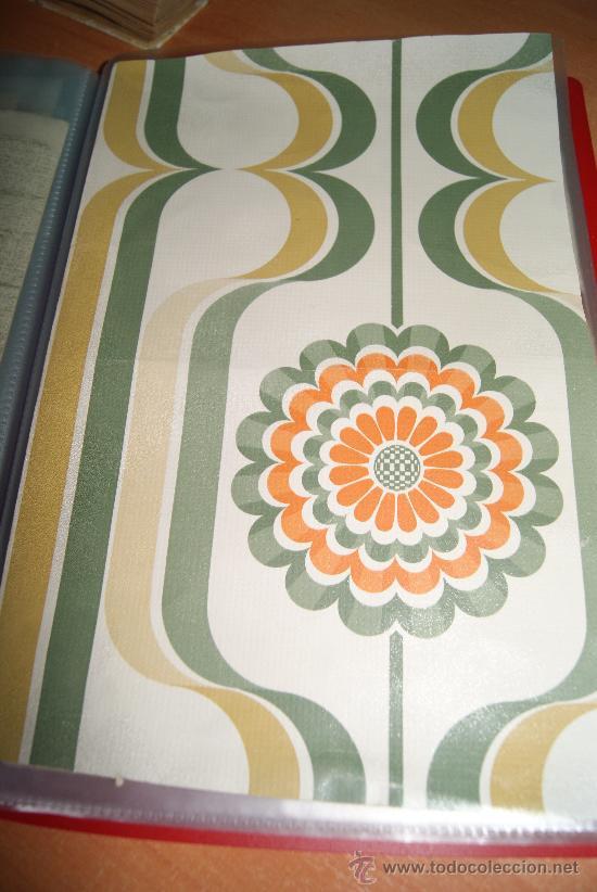 Rollo de papel pintado original de los a os 70 comprar - Papel pintado anos 70 ...