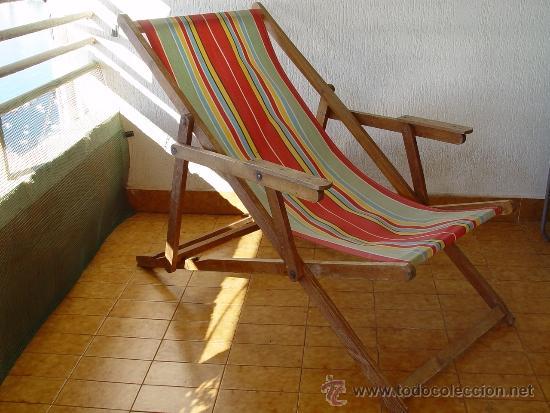 Antigua hamaca de jard n playa o terraza pleg comprar for Hamaca plegable playa