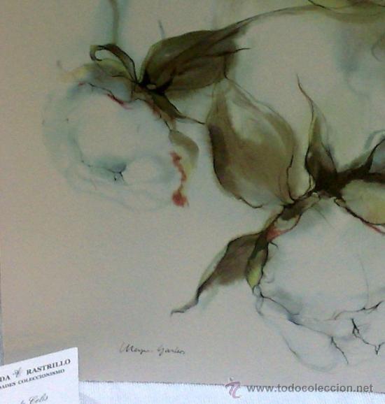Flores pareja de laminas antiguas para enma comprar for Enmarcar fotos online