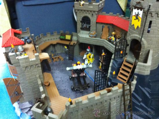Playmobil 4865 castillo medieval de los caballe comprar for Playmobil 4865 prix