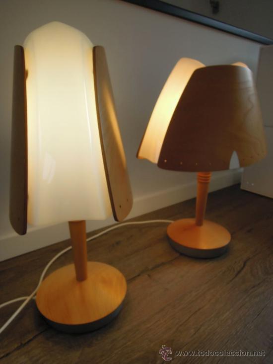 pareja de lamparas de mesa vintage diseo escandinavo danes
