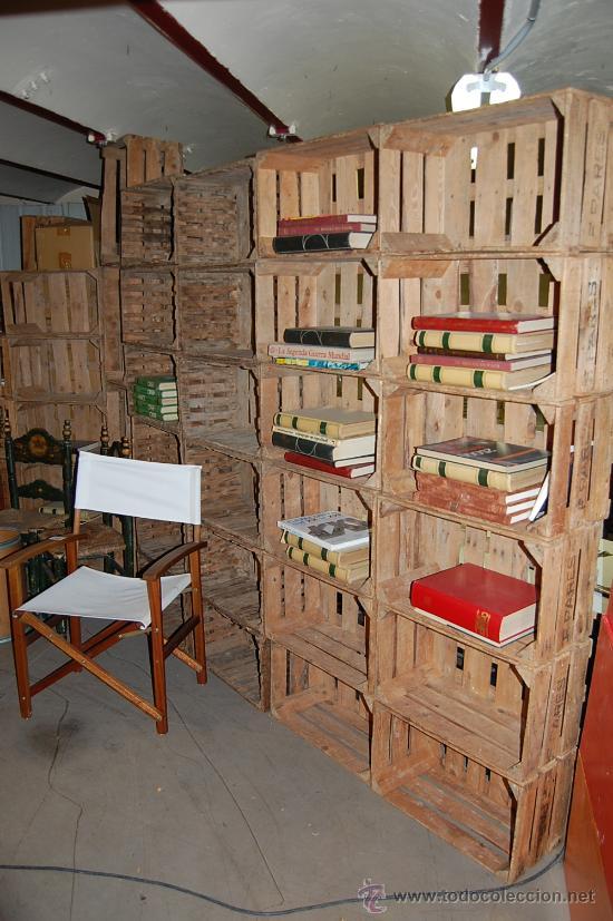 vintage foto 2 35578601 - Muebles Con Cajas De Fruta