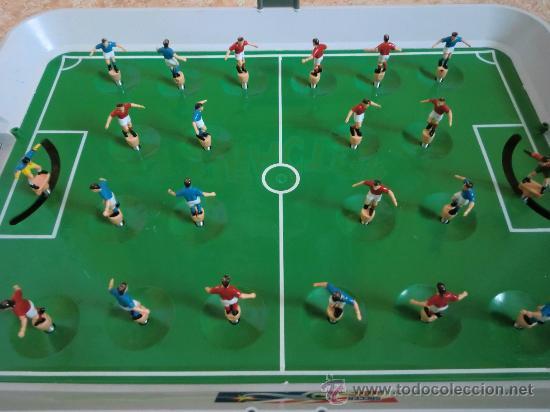 Futbol n juego de f tbol soccer subbuteo a comprar for Juego de mesa de futbol
