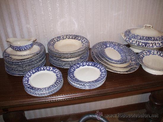 Antigua vajilla de la cartuja de finales de 180 comprar cer mica y porcelana de la cartuja - Vajilla la cartuja ...