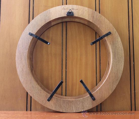 Marco redondo de madera para enmarcar plato a comprar for Enmarcar fotos online