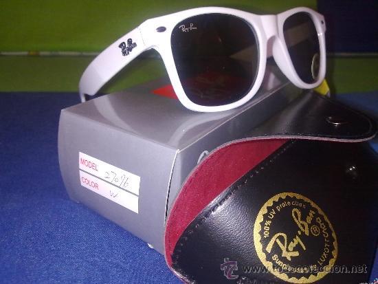 ray ban wayfarer 2140 blanca talla m - Comprar Complementos vintage ... 5d64d972046f