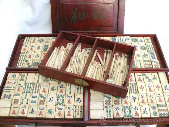 antiguo mahjong comprar juegos de mesa antiguos en
