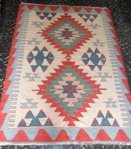 Antigua alfombra kilim comprar alfombras antiguas en for Kilim alfombras online