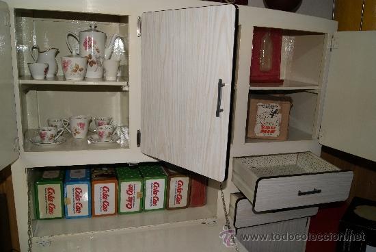 Mueble de cocina vintage tipo alacena a os 50 comprar - Cocinas retro anos 50 ...