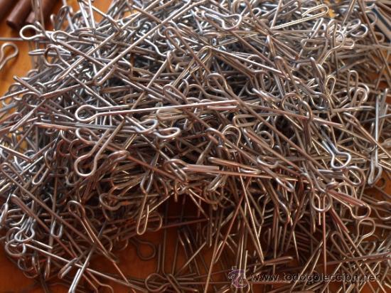 Lote canutillos plastico y ganchos metalicos pa comprar for Ganchos plasticos para cortinas