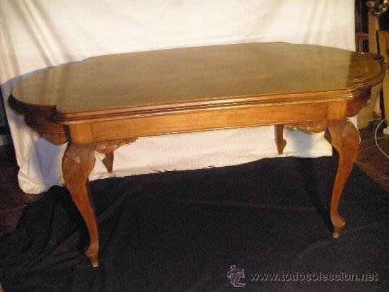 Mesa de comedor estilo isabelino comprar mesas antiguas for Comedor isabelino