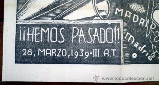 Periodico el alcazar diario del frente de madri comprar revistas y peri dicos antiguos en - Puerta de madrid periodico ...