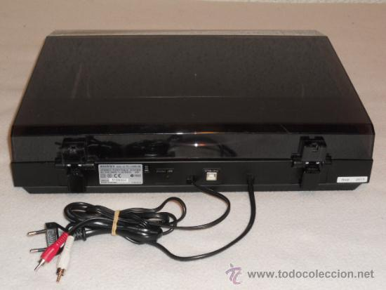 Tocadiscos Sony Stereo Turntable System Ps-lx30
