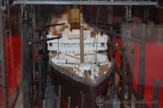 Diorama de la construcci n del rms titanic en d comprar - Construccion del titanic ...
