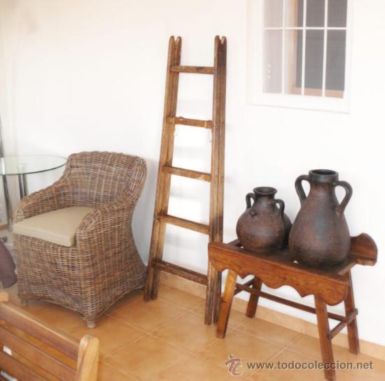 Escalera antigua madera ideal uso decoracion vi comprar - Comprar decoracion vintage ...