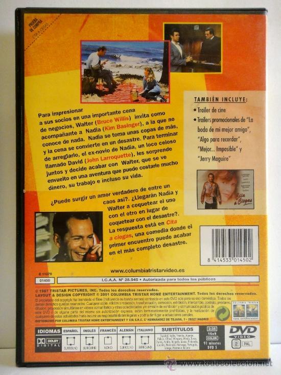 Cita A Ciegas Pelicula Dvd Como Nuevo Con Folle Comprar Películas