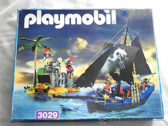 Playmobil barco corsario pirata isla comprar for Barco pirata playmobil