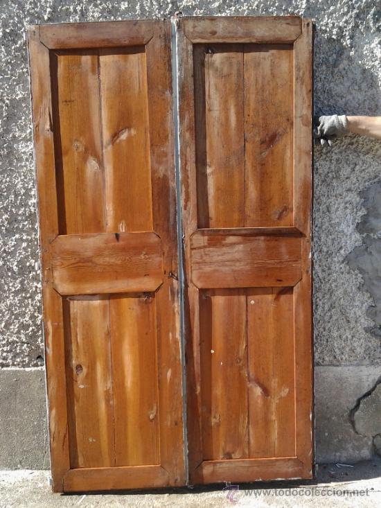 2 puertas antiguas blancas de alacena comprar - Compro puertas antiguas ...