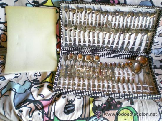 Antigua cuberteria de plata sellada italy arg 8 comprar for Cuberteria completa