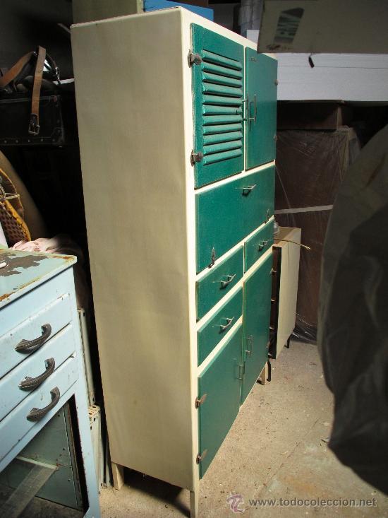 Alacena armario cocina vintage a os 50 a os 60 comprar - Cocinas retro anos 50 ...