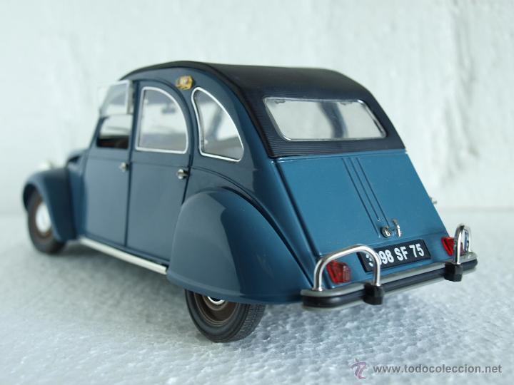 citroen 2cv 1 17 azul solido comprar coches a escala 1 18 en todocoleccion 39697959. Black Bedroom Furniture Sets. Home Design Ideas