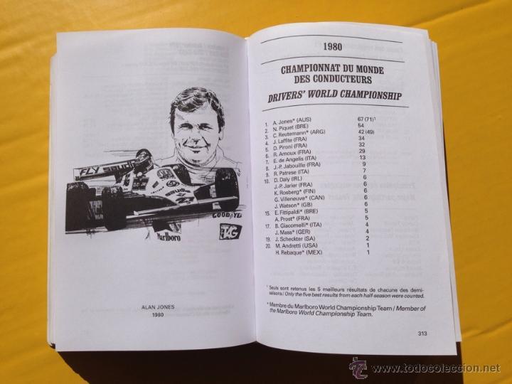 Marlboro grand prix f 1 guide 1950 1999 2000 comprar for Catalogo grand prix